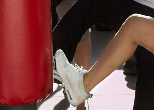 Sparketræning i træningslokalet