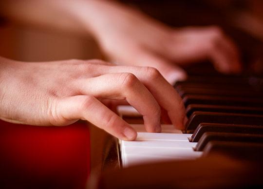 Klaver nærbillede