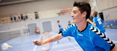 Badmintonspiller